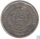 Seychelles 5 rupees 1992