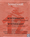 Tea bags and Tea labels - Sonnentor® - 12 WINTERNACHT Früchte-Gewürzteemischung | WINTERNIGHT  Fruit Spice Tea Blend