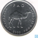 "Somalie 10 shillings 2000 ""F.A.O. - Food Security"""