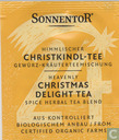 Tea bags and Tea labels - Sonnentor® - 24 Himmlischer CHRISTKINDL-TEE Gewürz-Kräuterteemischung | Heavenly CHRISTMAS DELIGHT TEA Spice Herbal Tea Blend
