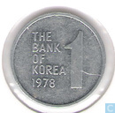 South Korea 1 won 1978