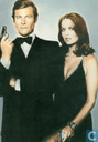 Roger Moore and Barbara Bach