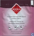 Tea bags and Tea labels - Mistral - Black Cherry