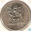 South Africa 50 cents 1983