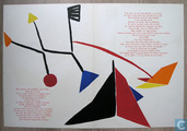 MAUVAISE SECTION ! Alexander Calder-lithographie, 1954