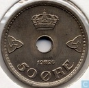Norway 50 øre 1926