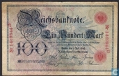Reichsbank, 100 Mark 1898