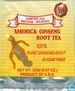 American Ginseng Root Tea