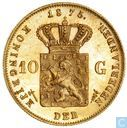 Netherlands 10 gulden 1875