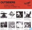 Schallplatten und CD's - Outsiders, The [NLD] - Summer is here