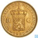 Netherlands 10 gulden 1926