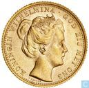 Coins - the Netherlands - Netherlands 10 gulden 1898 (without point)