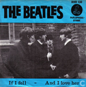 Disques vinyl et CD - Beatles, The - If I Fell