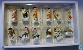 Lucky Luke porcelain miniature figurines