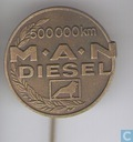 Pins and buttons - M.A.N. - M.A.N.500.000 km