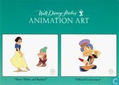 "Walt Disney Studio's Animation Art ""Snow White and Bashful"" ""Official Conscience"""