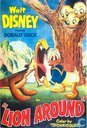 "Walt Disney Presents Donald Duck ""Lion Around"""