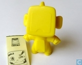 Robot male (yellow)