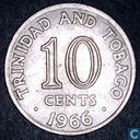 Trinidad and Tobago 10 cents 1966