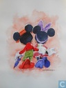 Original-Aquarell von Mickey Mouse-Kim Raymond