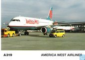 America West Airlines - Airbus A-319