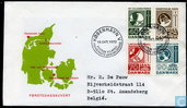 Timbres-poste - Danemark - Infrastructure