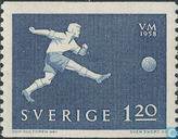 Postage Stamps - Sweden [SWE] - World Cup Soccer