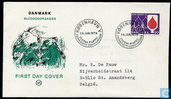 Postage Stamps - Denmark - Blood Transfusion