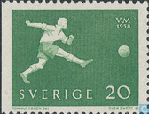 Postage Stamps - Sweden [SWE] - World Cup Soccer-Sweden