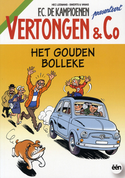 Vertongen & Co - Een gastrol in deze strip