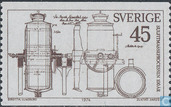 Postage Stamps - Sweden [SWE] - 100 years Sulfite process