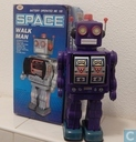 Purple Space Walkman