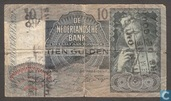 10 guilder Netherlands 1940 II