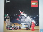 Lego 897 Mobile rocket launcher