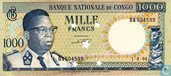 1000 Francs Banque nationale du Congo