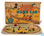 Mickey Mouse & Donald Duck Hand Car