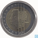 Coins - the Netherlands - Netherlands 2 euro 2000