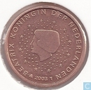 Coins - the Netherlands - Netherlands 1 cent 2003