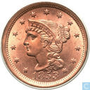 Coins - United States - United States 1 cent 1853