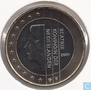 Coins - the Netherlands - Netherlands 1 euro 2001