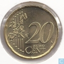Coins - the Netherlands - Netherlands 20 cent 2000