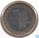 Coins - the Netherlands - Netherlands 1 euro 2000