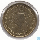 Coins - the Netherlands - Netherlands 20 cent 2002