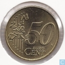 Coins - the Netherlands - Netherlands 50 cent 2001