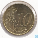 Coins - the Netherlands - Netherlands 10 cent 1999