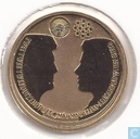 "Nederland 10 euro 2002 (PROOFLIKE - goud) ""Royal Wedding of Máxima and Willem-Alexander"""