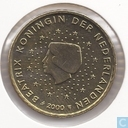 Coins - the Netherlands - Netherlands 50 cent 2000