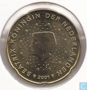 Coins - the Netherlands - Netherlands 20 cent 2001