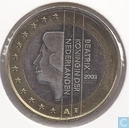 Coins - the Netherlands - Netherlands 1 euro 2003