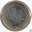 Coins - the Netherlands - Netherlands 1 euro 2007